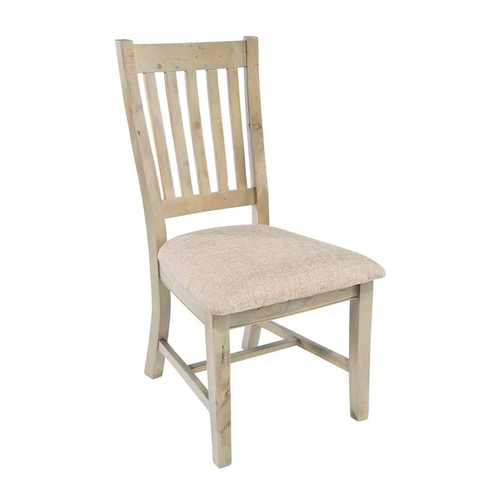 Time Worn Saltash Collection Slatted Back Dining Chair