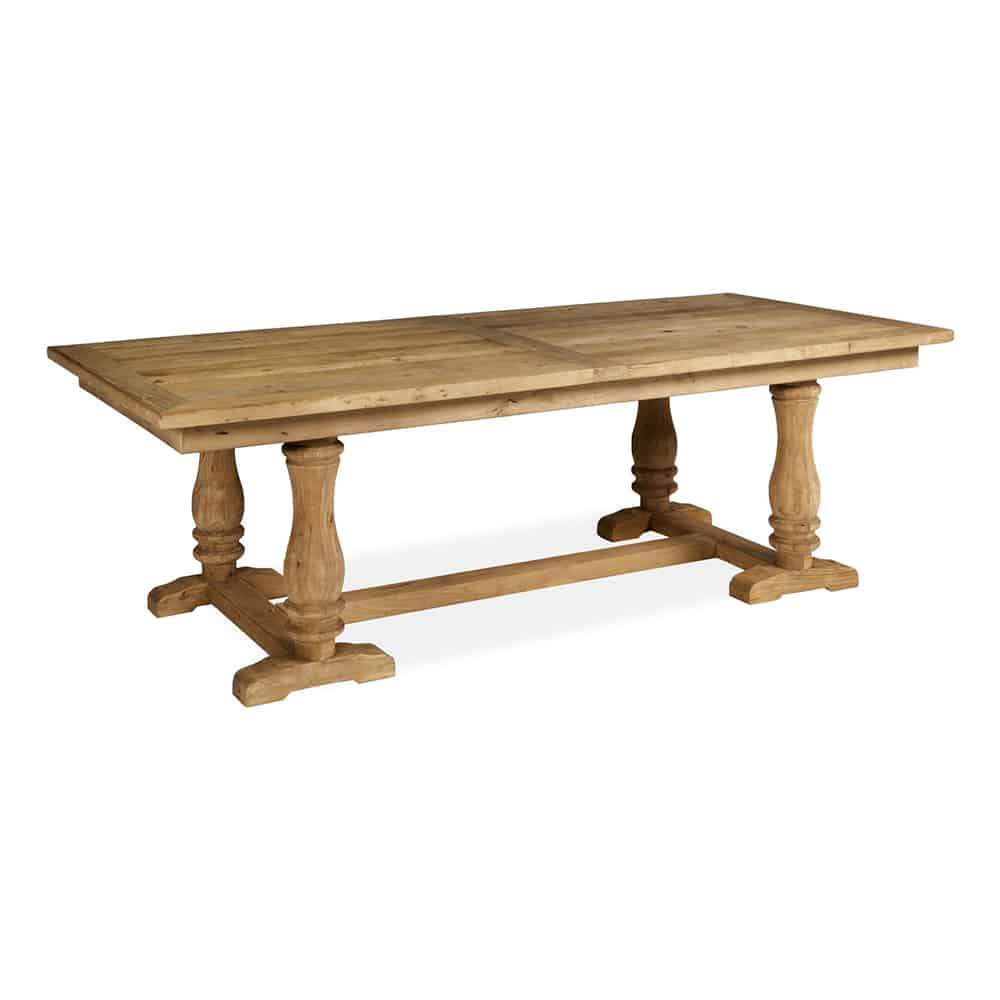 boston large reclaimed wood refectory dining table www