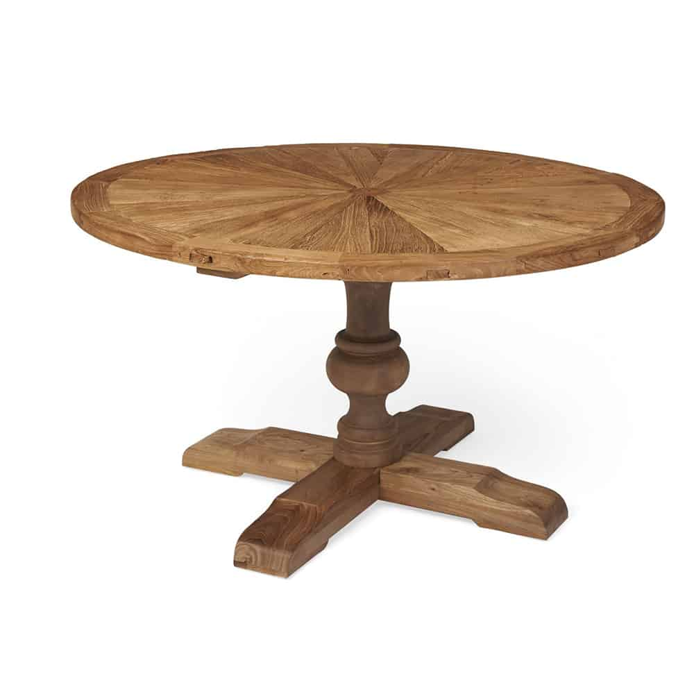 Boston Round Reclaimed Wood Dining Table Www