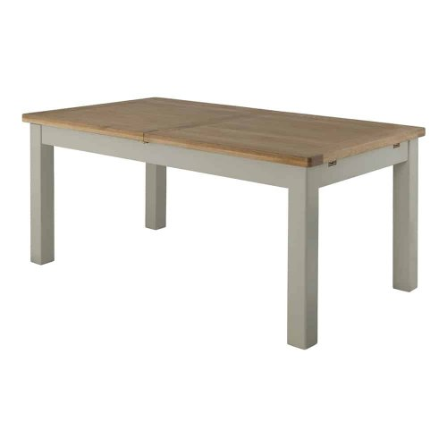 Portland stone grande extending dining table www for Dining room tables portland or
